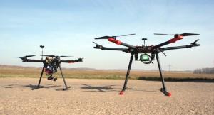 Drohne Größe  L(680mm) und XL (960mm)