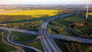 Autobahnkreuz Chemnitz 4K UHD